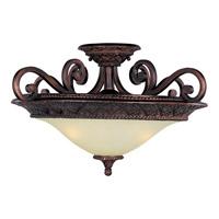 Maxim Lighting Symphony 3 Light Semi Flush Mount in Oil Rubbed Bronze 11241SVOI photo thumbnail