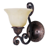 Maxim Lighting Symphony 1 Light Wall Sconce in Oil Rubbed Bronze 11246SVOI