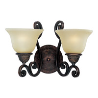 Maxim Lighting Symphony 2 Light Wall Sconce in Oil Rubbed Bronze 11247SVOI