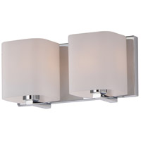 Maxim 11252SWPC Wrap 2 Light 13 inch Polished Chrome Bath Vanity Wall Light