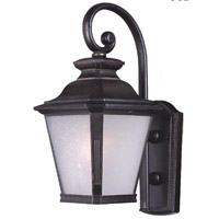 Maxim Lighting Knoxville 1 Light Outdoor Wall Lantern in Bronze 1125FSBZ