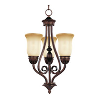 Maxim Lighting Bolero 3 Light Mini Chandelier in Oil Rubbed Bronze 11292WSOI photo thumbnail