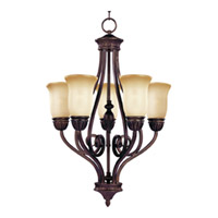 Maxim Lighting Bolero 5 Light Mini Chandelier in Oil Rubbed Bronze 11293WSOI