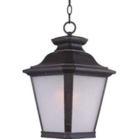 Maxim Lighting Knoxville 1 Light Outdoor Hanging Lantern in Bronze 1129FSBZ