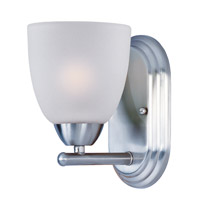 Maxim 11311FTPC Axis 1 Light 5 inch Polished Chrome Bath Vanity Wall Light