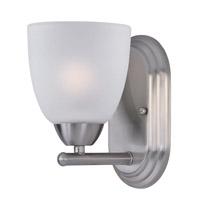 Maxim 11311FTSN Axis 1 Light 5 inch Satin Nickel Bath Vanity Wall Light