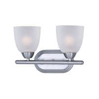 Axis 2 Light 13 inch Polished Chrome Bath Vanity Wall Light