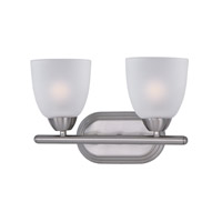 Maxim Lighting Axis 2 Light Bath Vanity in Satin Nickel 11312FTSN