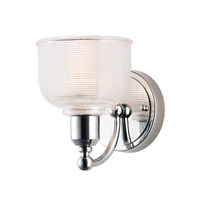 Hollow 1 Light 6 inch Polished Chrome Wall Sconce Wall Light