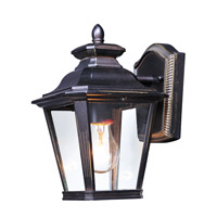 Maxim 1133CLBZ Knoxville 1 Light 11 inch Bronze Outdoor Wall Sconce