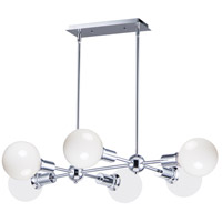 Maxim 11346PC Molecule 6 Light 35 inch Polished Chrome Linear Pendant Ceiling Light