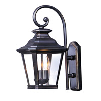Maxim 1137CLBZ Knoxville 3 Light 23 inch Bronze Outdoor Wall Sconce
