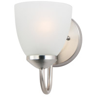 Maxim 11381FTSN Axis 1 Light 5 inch Satin Nickel Bath Vanity Wall Light