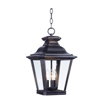 Maxim 1139CLBZ Knoxville 3 Light 11 inch Bronze Outdoor Hanging Lantern