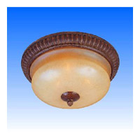 Maxim Lighting Savannah 3 Light Flush Mount in Malacca Crackle 11401WSMC photo thumbnail