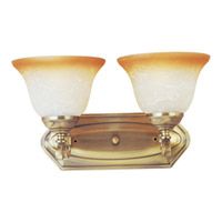 Maxim Lighting Boca 2 Light Wall Sconce in Light Gold 11682LTLG