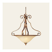 Maxim Lighting La Scalla 3 Light Pendant in Gold Umber 11763WSGU