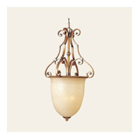 Maxim Lighting La Scalla 3 Light Pendant in Gold Umber 11766WSGU