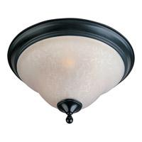 Maxim 11799ICBK Linda 2 Light 13 inch Black Flush Mount Ceiling Light