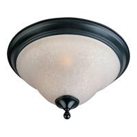 Maxim 11800ICBK Linda 3 Light 16 inch Black Flush Mount Ceiling Light
