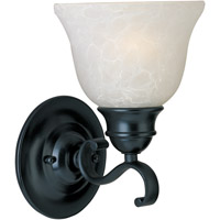 Linda 1 Light 6 inch Black Wall Sconce Wall Light in Ice