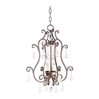 Maxim Lighting Hampton 3 Light Pendant in Auburn Dusk 12028AD