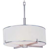 Maxim Lighting Nexus 4 Light Pendant in Satin Nickel 12053WTSN