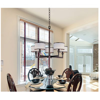 Maxim 12055WTOI Nexus 5 Light 28 inch Oil Rubbed Bronze Single Tier Chandelier Ceiling Light