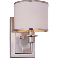 Maxim 12059WTSN Nexus 1 Light 6 inch Satin Nickel Wall Sconce Wall Light photo thumbnail