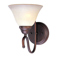 Maxim Lighting Newport 1 Light Wall Sconce in Oil Rubbed Bronze 12066WSOI photo thumbnail