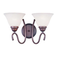 Maxim Lighting Newport 2 Light Bath Light in Oil Rubbed Bronze 12067WSOI