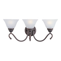 Maxim Lighting Newport 3 Light Bath Light in Oil Rubbed Bronze 12068MROI