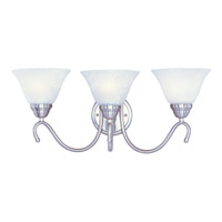 Maxim Lighting Newport 3 Light Bath Light in Satin Nickel 12068MRSN