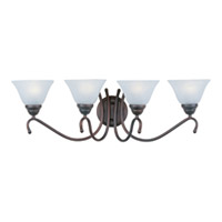 Maxim Lighting Newport 4 Light Bath Light in Oil Rubbed Bronze 12069MROI