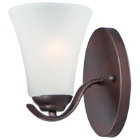 Maxim 12081FTOI Vital 1 Light 6 inch Oil Rubbed Bronze Bath Vanity Wall Light
