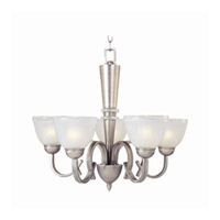 Maxim Lighting Urban Chic 5 Light Single Tier Chandelier in Antique Nickel 12105CIAN photo thumbnail
