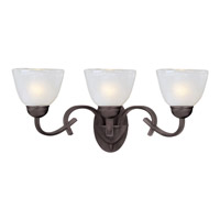 Maxim Lighting Urban Chic 3 Light Bath Light in Oil Rubbed Bronze 12109CIOI