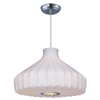 Cocoon 1 Light 19 inch Polished Chrome Pendant Ceiling Light