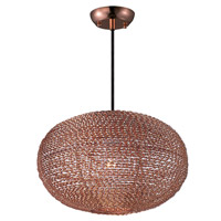 Maxim Lighting Twisp 1 Light Pendant in Copper 12192CP