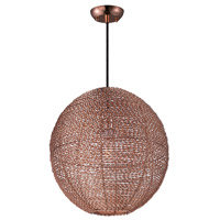 Maxim Lighting Twisp 1 Light Pendant in Copper 12194CP