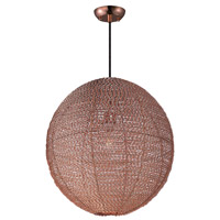 Maxim Lighting Twisp 1 Light Pendant in Copper 12195CP