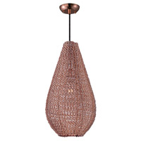 Maxim 12198CP Twisp 1 Light 11 inch Copper Pendant Ceiling Light
