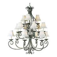 Maxim Manor Chandeliers 12219ST photo thumbnail