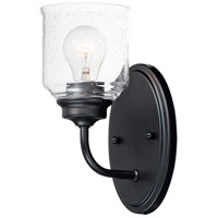 Maxim 12261CDBK Acadia 1 Light 5 inch Black Wall Sconce Wall Light