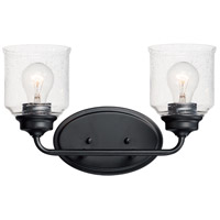Maxim 12262CDBK Acadia 2 Light 15 inch Black Vanity Light Wall Light