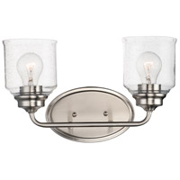 Maxim 12262CDSN Acadia 2 Light 15 inch Satin Nickel Vanity Light Wall Light