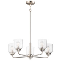 Maxim 12266CDSN Acadia 5 Light 26 inch Satin Nickel Chandelier Ceiling Light
