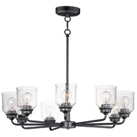 Maxim 12268CDBK Acadia 8 Light 32 inch Black Chandelier Ceiling Light
