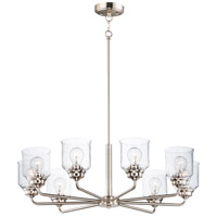 Maxim 12268CDSN Acadia 8 Light 32 inch Satin Nickel Chandelier Ceiling Light