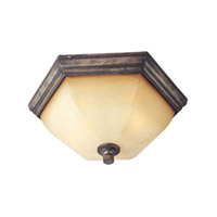 Maxim Lighting Moda 2 Light Flush Mount in Florentine 12300KLFN